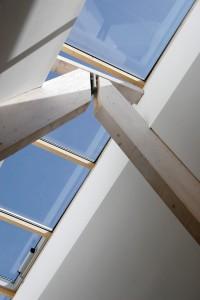 Innenarchitektur im Waldhaus Mehlmeissel von Architekt Kuchenreuther