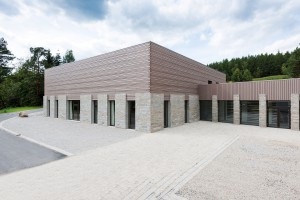 Architekturfotografie des Exertitienhauses der Architekten Brückner + Brückner