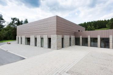 Architekturaufnahmen des Exertitienhauses der Architekten Brückner + Brückner. Feigfotodesign
