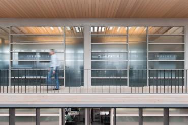Architekturfotografie Fotograf Studio Oberfranken Projekträume der IGZ in Falkenberg. Feigfotodesign