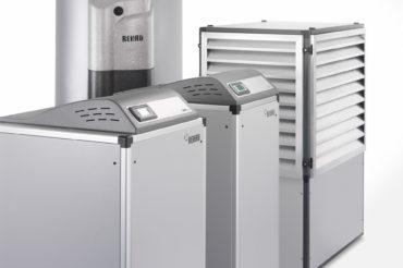 Wärmepumpen Modelle der Firma Rehau. Feigfotodesign
