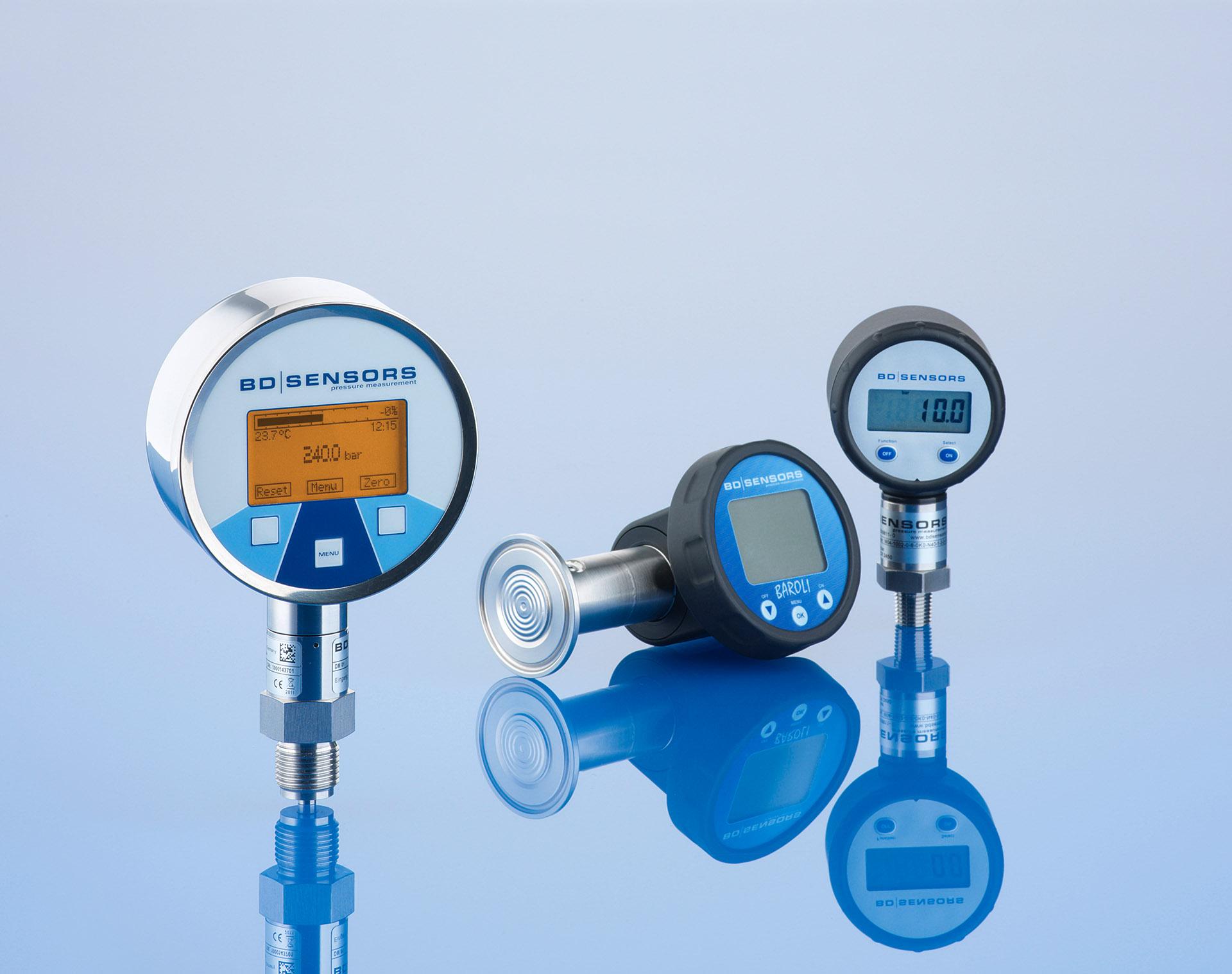 Produktbild Drucksensoren von PD Sensoren. Feigfotodesign