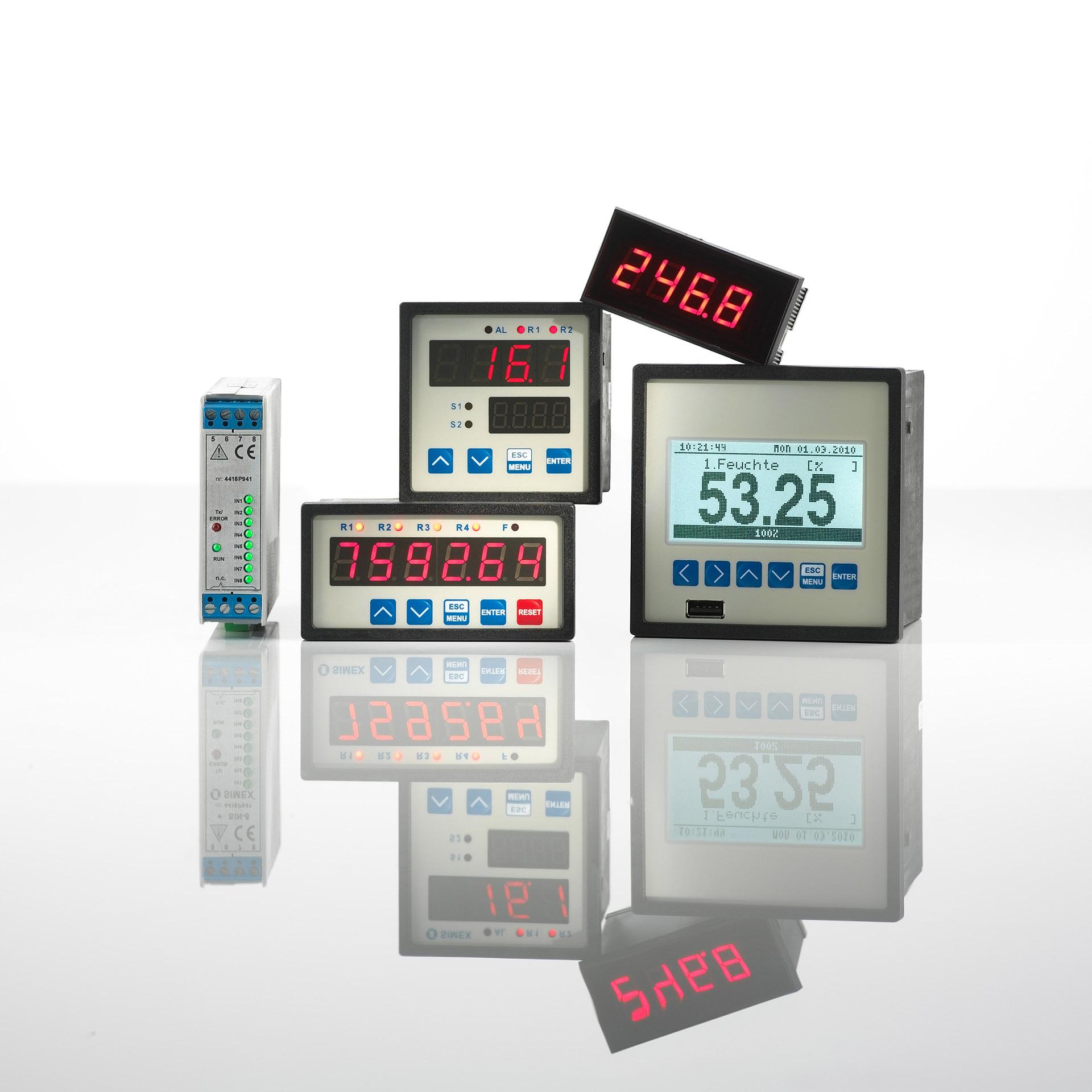 Kontrollanzeigen Messgeräte. Feigfotodesign