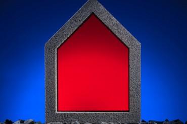 Werbefotografie Imageaufnahme von Glaswärmedämmung