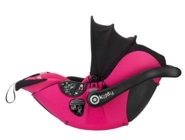Produktfreisteller Kindersitz pink kiddy. Feigefotodesign