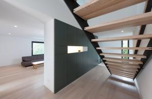 Architekturfotografie Offener Flur mit Treppe von Architekt Markus Weber
