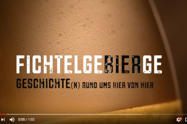Screenshot YouTube Video FichtelgeBIERge. Feigefotodesign