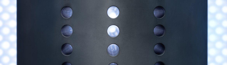 Close-Up Wärmetauscher von FCTI in Sonneberg. Feigefotodesign