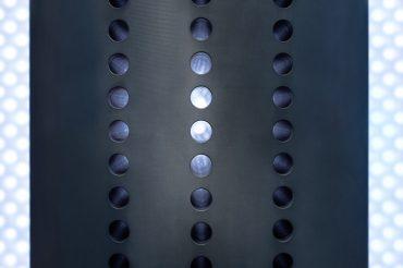 Werbefotografie Studio Oberfranken Close-Up Wärmetauscher von FCTI in Sonneberg. Feigefotodesign