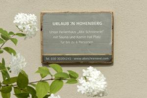 Aussenansicht Ferienhaus Alte Schreinerei In Hohenberg an der Eger
