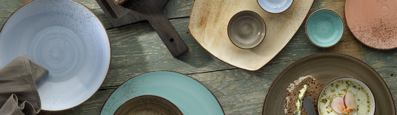 Bauscher modern rustic Teller. feigfotodesign. Produktfotografie