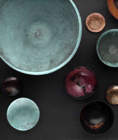 Handcraftet Bowls FROM ISMAEL CONDE RUIZ silversmith