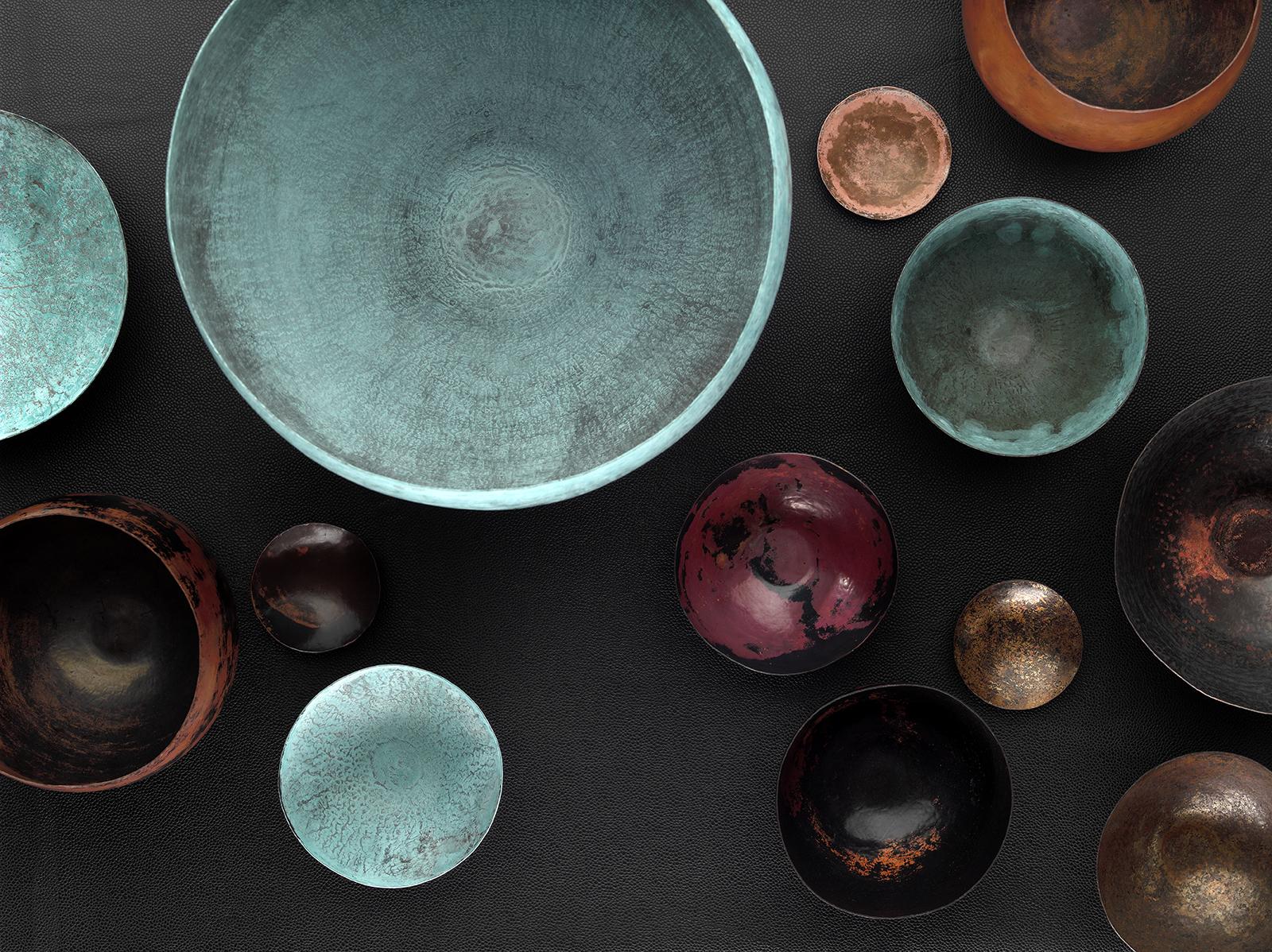 Werbefotografie Fotostudio Oberfranken Handcraftet Bowls FROM ISMAEL CONDE RUIZ silversmith