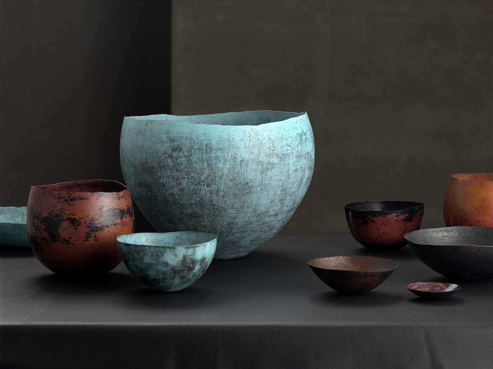 Werbefotografie Studio Oberfranken Handcraftet Bowls FROM ISMAEL CONDE RUIZ silversmith