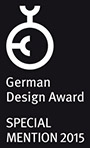 German Design Award Winner 2018 & SPECIAL MENTION 2015